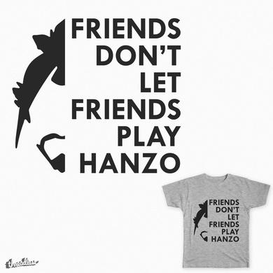 No, Hanzo!