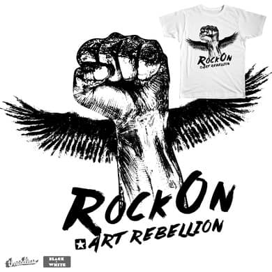Rock On | Art Rebellion
