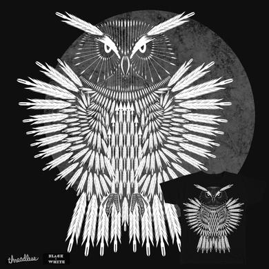 Monochromatic Arrow owl