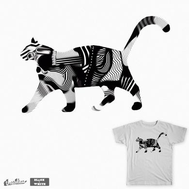 opArt Cat