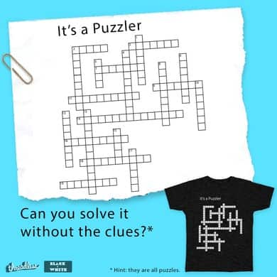 It's a Puzzler