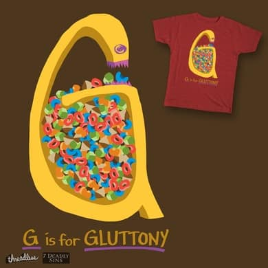 G is for Gluttony