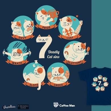 7 Deadly Cat Sins