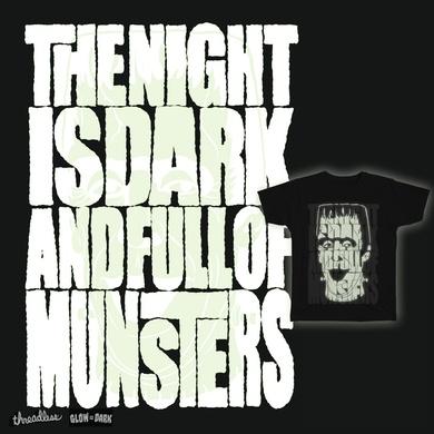 The night is dark…
