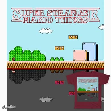 Super Stanger Mario Things