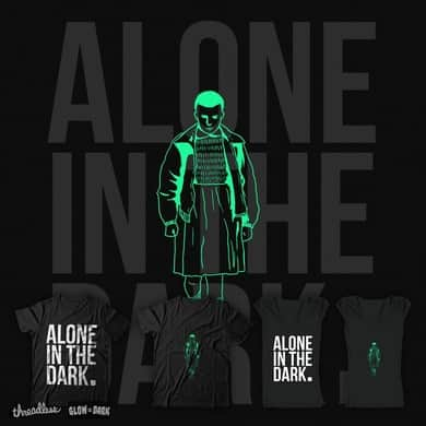 ALONE IN THE DARK.