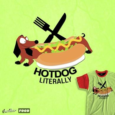 Hotdog Sandwich, literally..