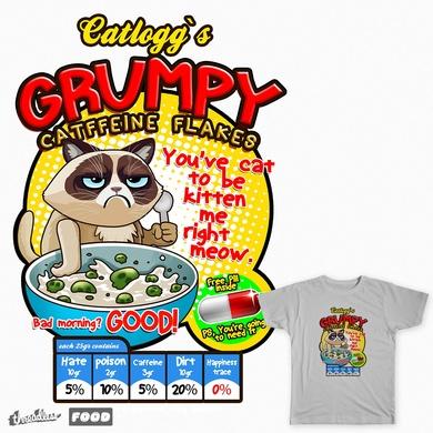 Grumpy Catffeine Flakes - Grumpy Cat