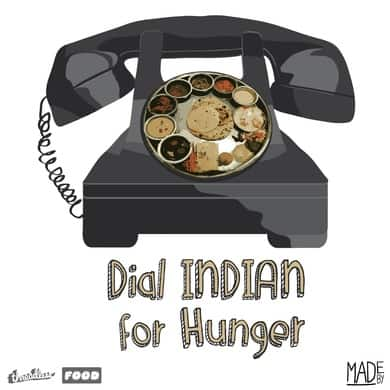 Dial Indian for Hunger