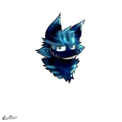 Smirking Cheshire Cat