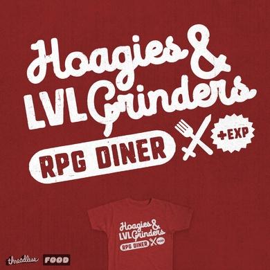 Hoagies & LVL Grinders RPG Diner