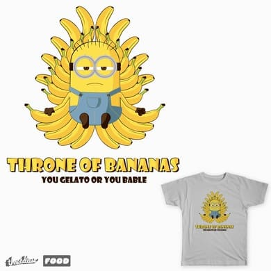 Throne Of Bananas