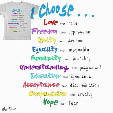 I Choose. . .