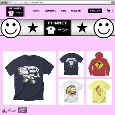 PFinney's Artist Shop!