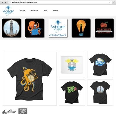 Walker Designs Artist Shop