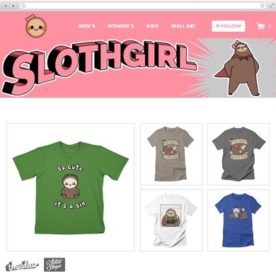 SlothgirlArt Online