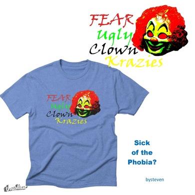 Fear Ugly Clown Krazies