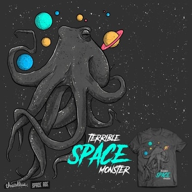 Terrible space monster