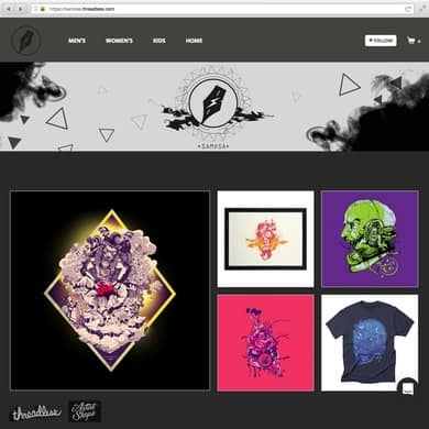 Samosa Artist Shop