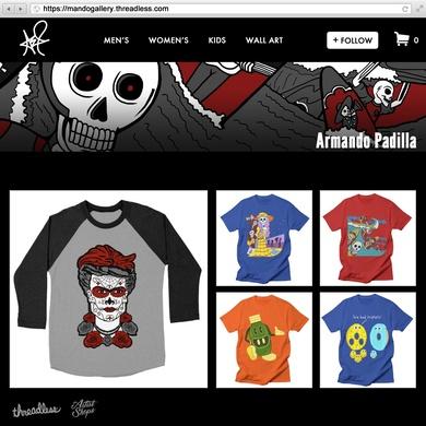 Armando Padilla's Artist Shop