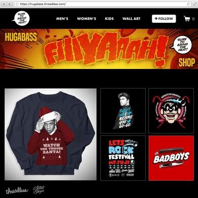 Hugabass Fire Shop