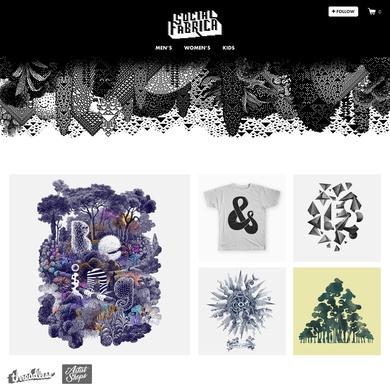 Social Fabrica artist shop