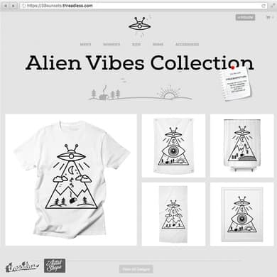 Alien Vibes Collection