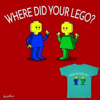Where did your lego?