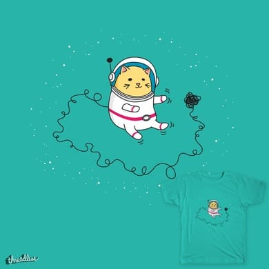 Space Cat To The Rescue!