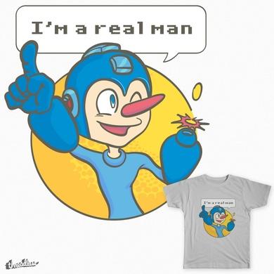 I'm a real man