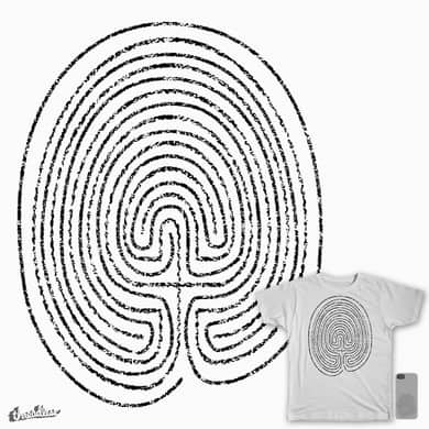 Thumbprint Labyrinth