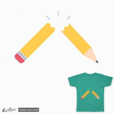 Broken Pencil Emoji