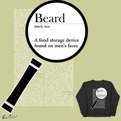 Beard. Funny definition