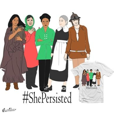 #ShePersisted
