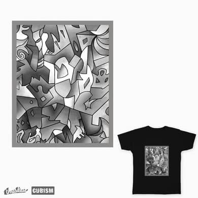 Black and white color puzzles