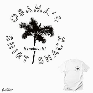 Obama's Shirt Shack - Palm