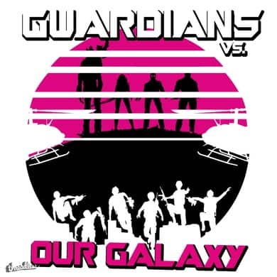 Guardians vs. Earth