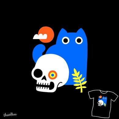 Little Blue Cat