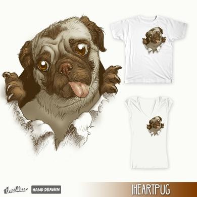 I heart pug