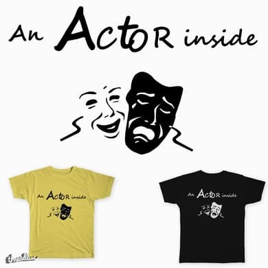 An actor inside