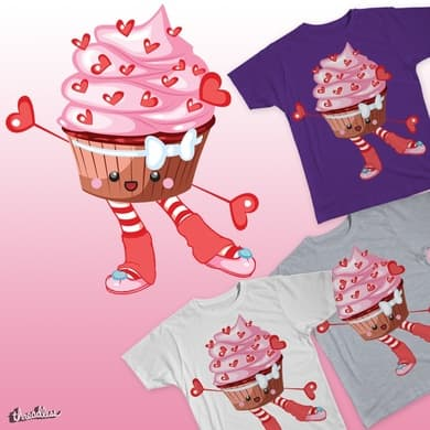cupcake dancer