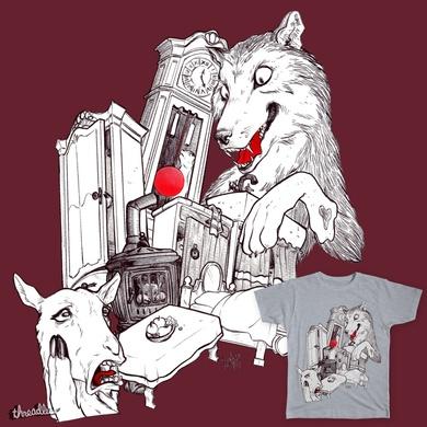 Wolf&7LittleGoats