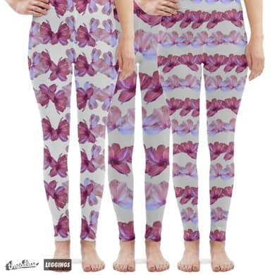 Petal lines leggings!