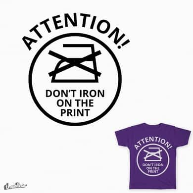 Oh! the iron-y