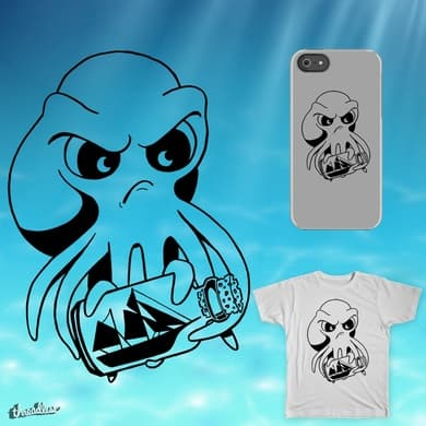 Frustrated Octopus