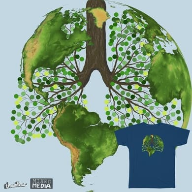 Earth's lungs
