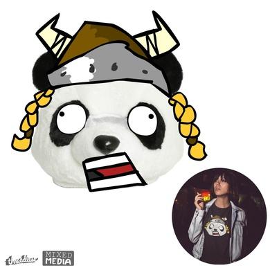 Surprised Viking Panda