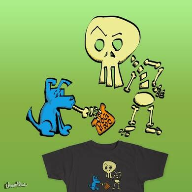 Bones and Blue