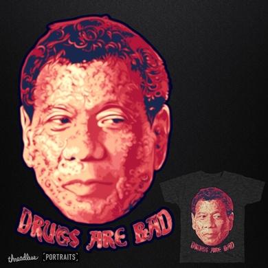 """Drug are bad"" says Durterte"