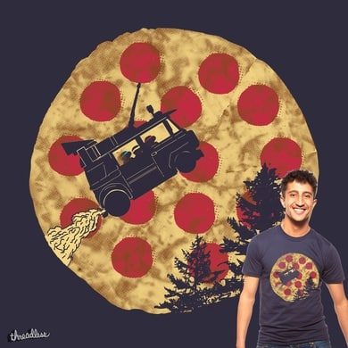 i want to pizza